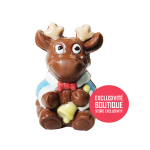 Yoan the reindeer - chocolate molding