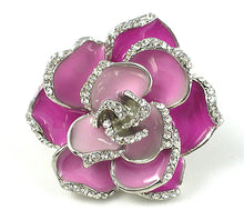 Pink Flower Stretch Ring