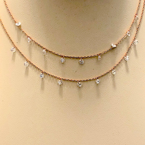 Dainty Layered Double Strands Necklace