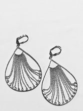 Sterling Silver Multi Chains Dangle Earrings
