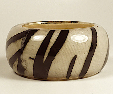 Bold Tiger Print Bangle