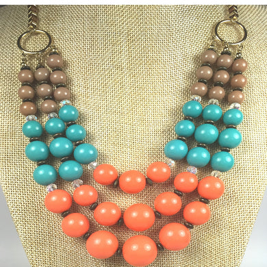 Boho Chic  Layered Necklace Set