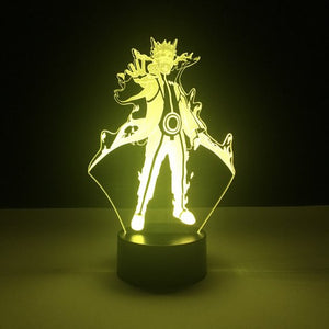 Naruto Kyubi LED Lamp - Discount Gaming