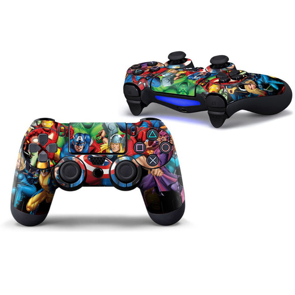 Super Hero Decal for PS4 Controllers - Discount Gaming