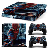 Spiderman Vinyl Decal for PS4 - Discount Gaming