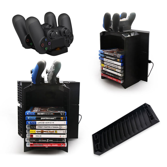 3 in 1 Dual Game Controller Charger Dock Station Stand - Discount Gaming