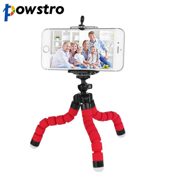 Mini Portable Flexible Tripod Phone Holder - Discount Gaming