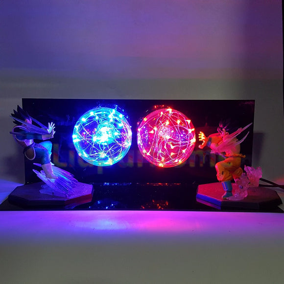 Goku vs Vegeta LED Blasts - Discount Gaming