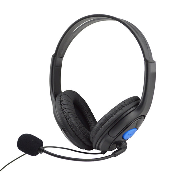 Wired Gaming Headset Headphones With Microphone For Sony PS4 - Discount Gaming