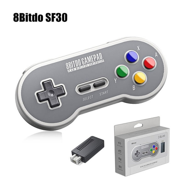 8Bitdo SN30 Wireless Controller - Discount Gaming