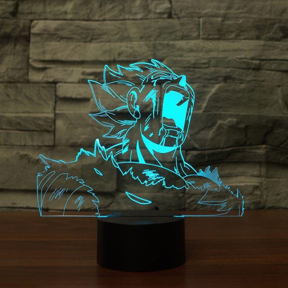 Vegeta LED Lamp - Discount Gaming