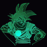 Goku Blast LED Lamp - Discount Gaming