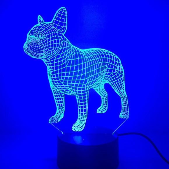 French Bulldog LED Lamp - Discount Gaming