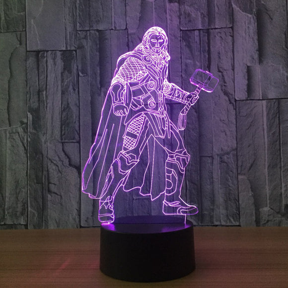 Thor LED Lamp - Discount Gaming