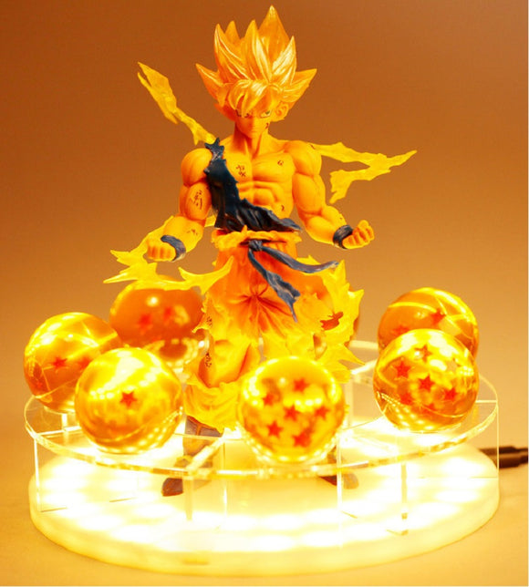 Dragon Ball Z Goku / Shenron with Dragon Balls LED - Discount Gaming