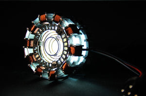 Iron Man 1:1 Arc Reactor with LED - Discount Gaming