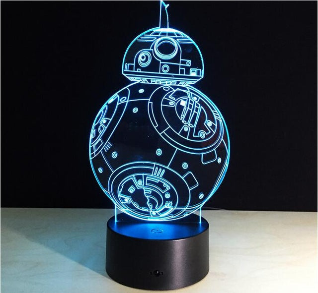 Star Wars Led Lamps