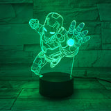 Ironman LED Lamp - Discount Gaming