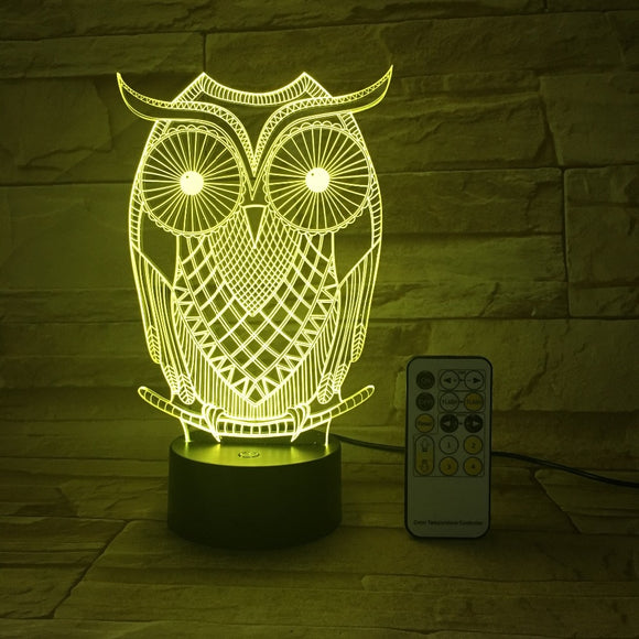 Owl LED Lamp - Discount Gaming