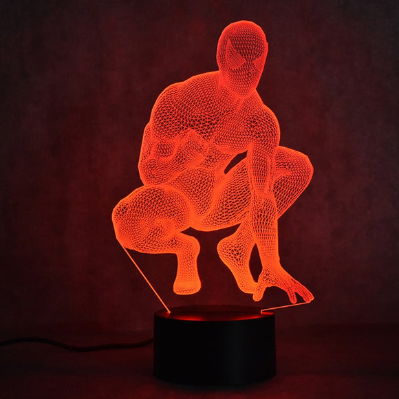 Spiderman LED Lamp - Discount Gaming