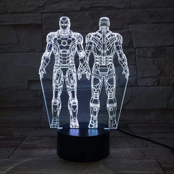 Iron Man LED Lamp - Discount Gaming