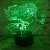 Wonder Woman Led Lamp - Discount Gaming