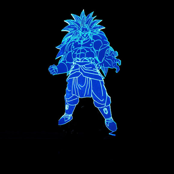Broly LED Lamp - Discount Gaming