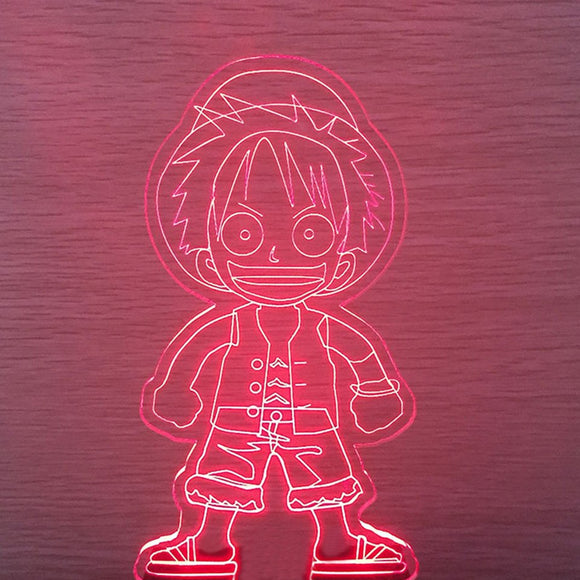 Luffy LED Lamp - Discount Gaming