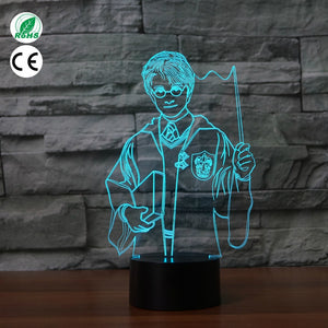 Harry Potter LED Lamp - Discount Gaming