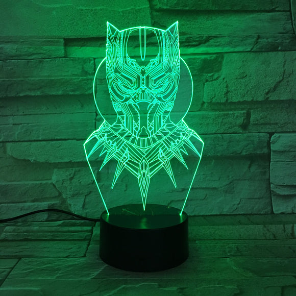 Black Panther LED Lamp - Discount Gaming
