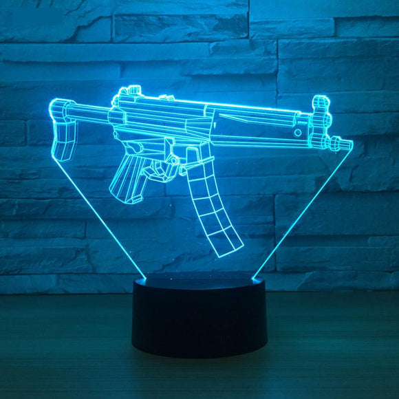 Fortnite Gun LED Lamp - Discount Gaming