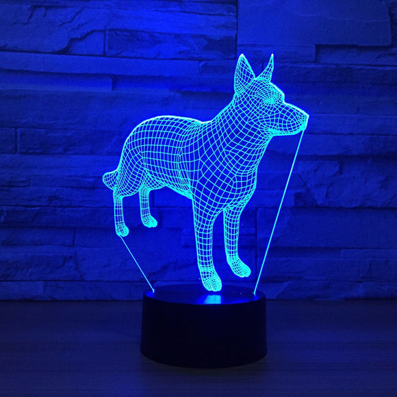 Doberman Pinscher LED Lamp - Discount Gaming