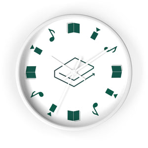 LBRY Icon Content Wall Clock