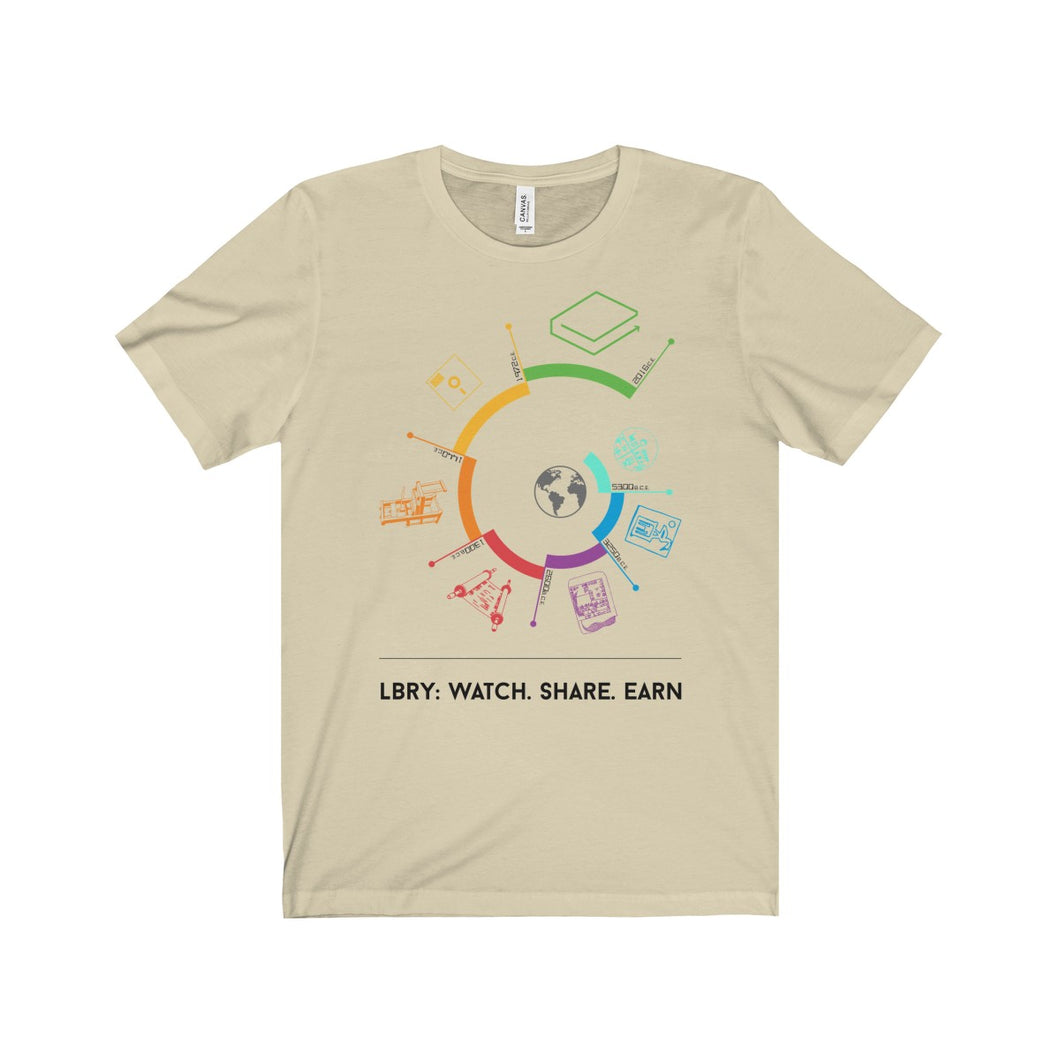 Watch Earn Share Unisex T-shirt