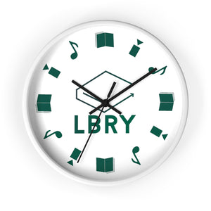 LBRY Content Wall Clock