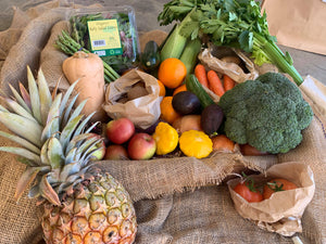 Easy groceries - mixed organic fruit and veg bag