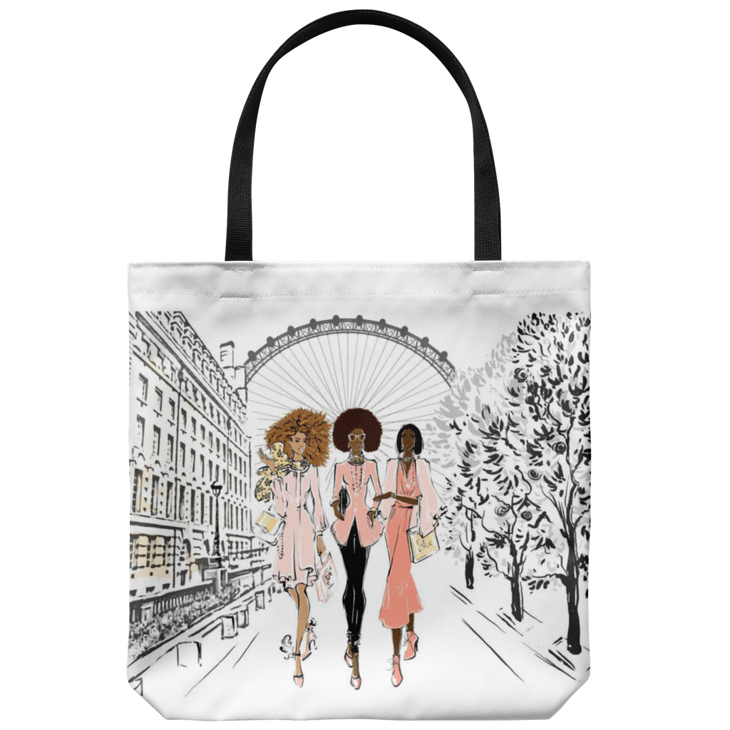 Brown Girls in London Tote Bag