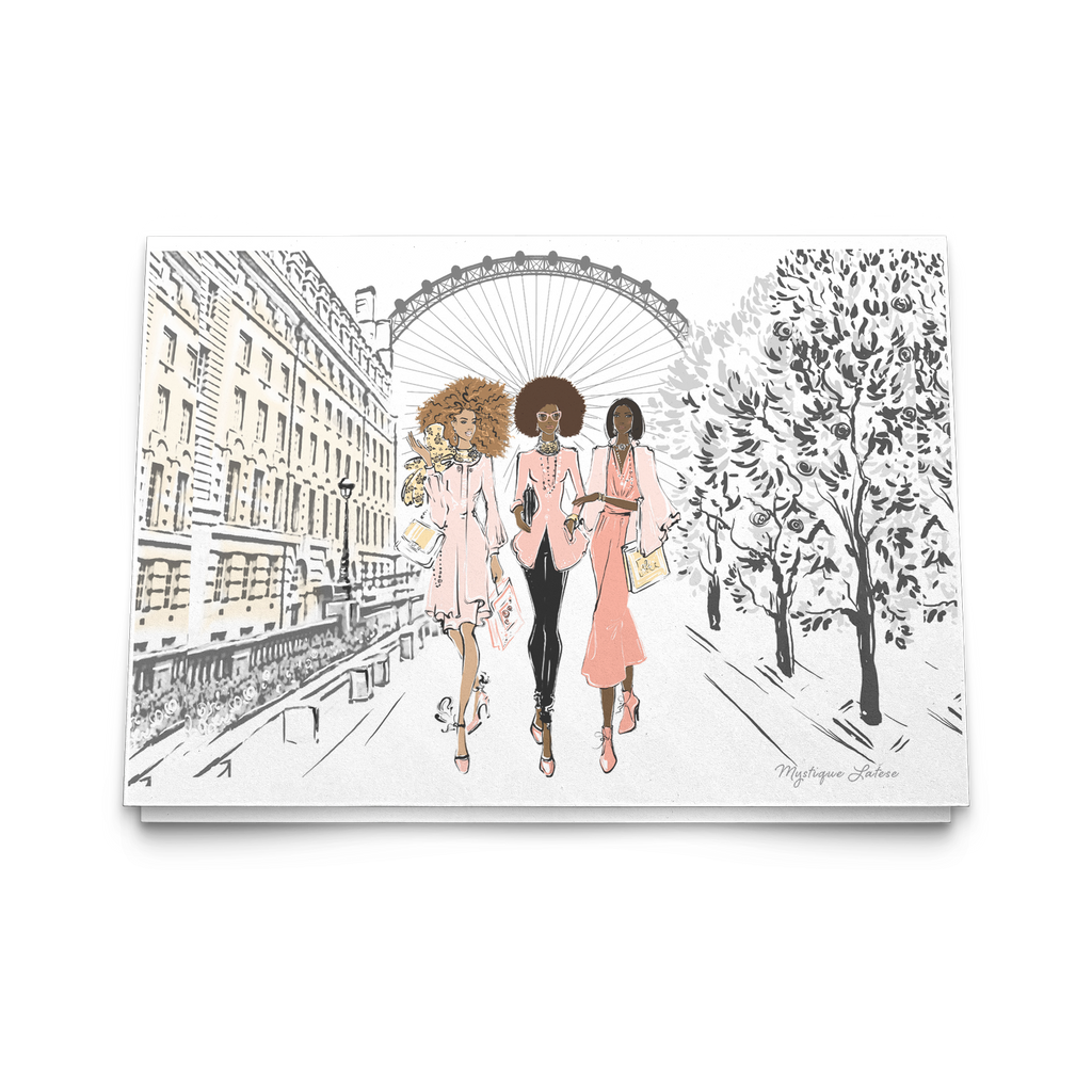 London Eye Note Cards