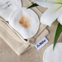Zero Waste Washable Reusable Makeup Remover Pads - La Nature
