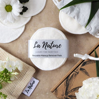 One Zero Waste Makeup Remover Pads Bundle - La Nature Store