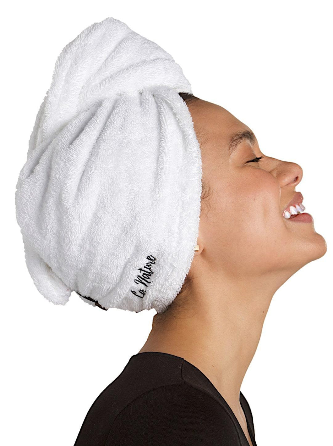 La Nature® Organic Cotton Hair Turban Towel - La Nature Store