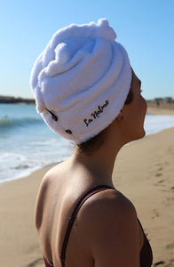 La Nature® Organic Cotton Hair Turban Towel  Beach - La Nature Store