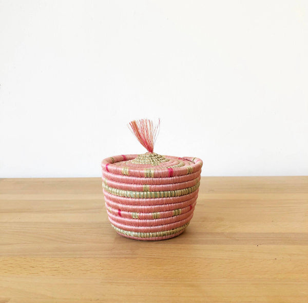 AMSHA | Maraba mini lidded basket