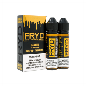 FRYD Banana 60ml - VAPINDASH