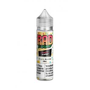 Rad E-Liquid- Party Hardy 60mL 3mg ONLY! - VAPINDASH
