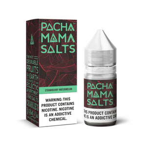Pacha Mama Salt - Strawberry Watermelon 30mL - VAPINDASH