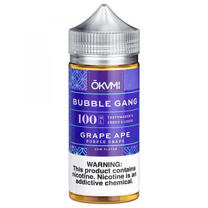 Bubble Gang - Grape Ape 100mL - VAPINDASH