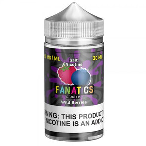 Salt Fanatics - Wild Berries 50mg 30mL - VAPINDASH