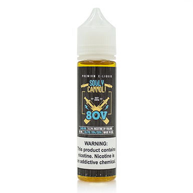 80V eLiquid - Souly Cannoli - VAPINDASH