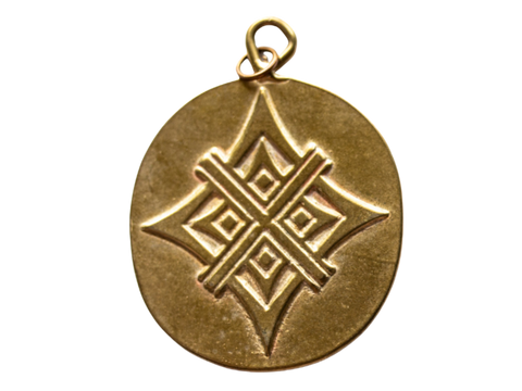 Together Mahendi Bronze Artisan Tag